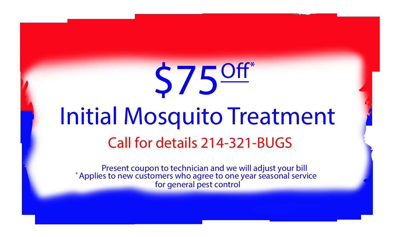 Mosquito Pest Control Coupon