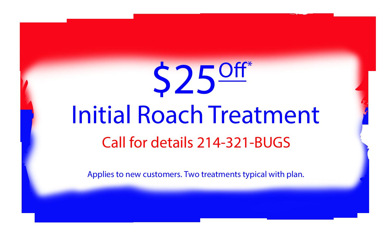Roach Pest Control Coupon